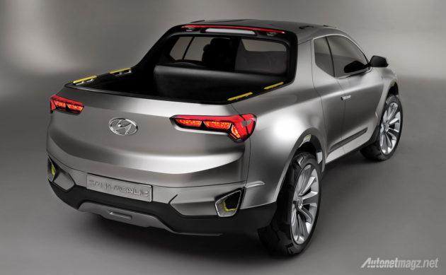 Hyundai Santa Cruz UTE truck concept Hyundai USA