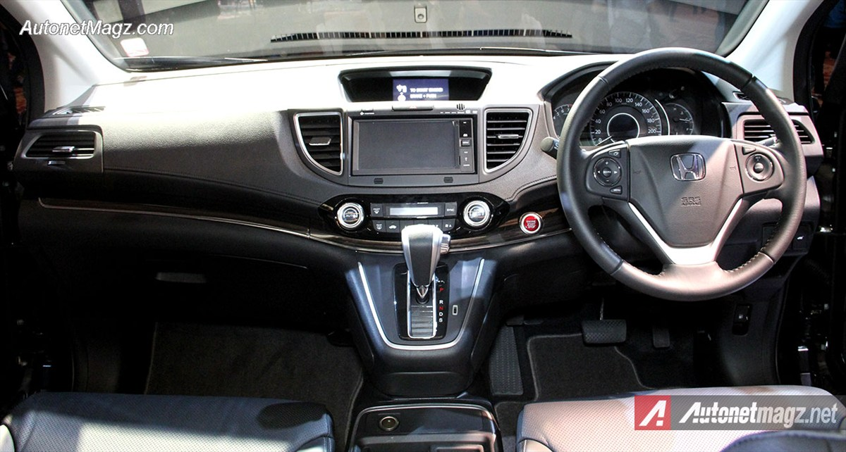 Interior honda crv facelift baru indonesia for Interior honda crv