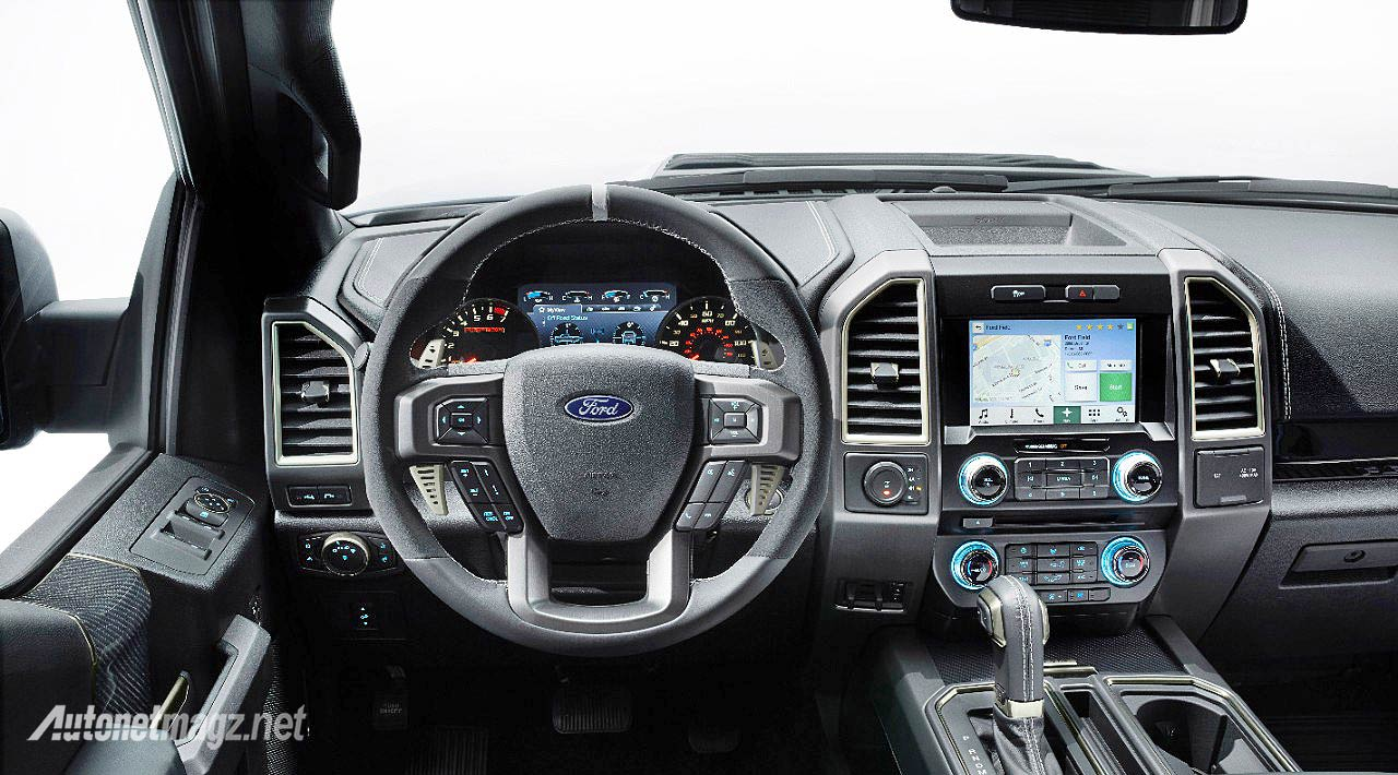 Interior Dashboard Ford Raptor F120 Double Cabin Truck