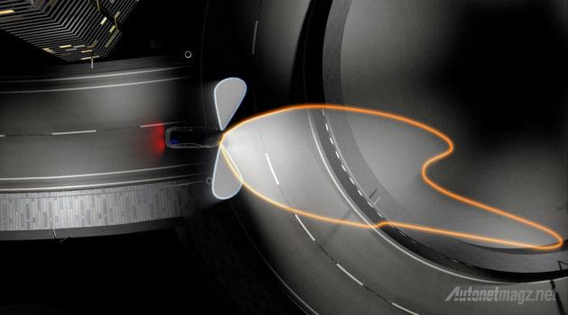 Jangkauan lampu laser OLED BMW jarak jauh bisa 600 meter