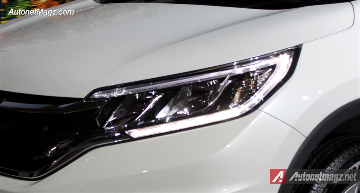 Honda, Lampu-Depan-Honda-CRV-2000: First Impression Review Honda CRV Facelift 2015 Indonesia