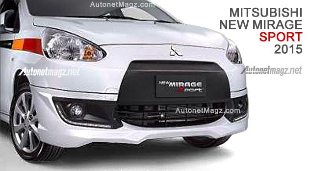 Mitsubishi Mirage facelift 2015 baru
