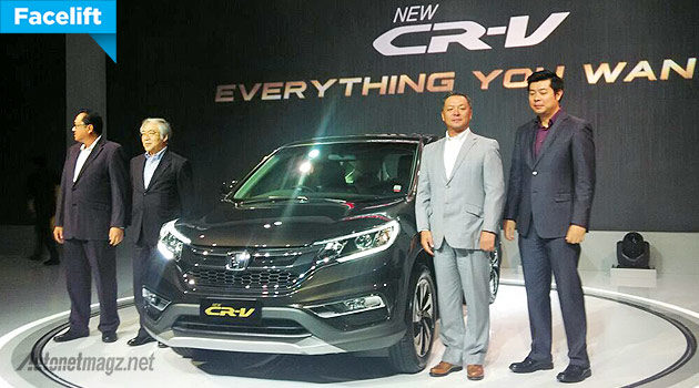 New Honda CR-V facelift 2015 versi Indonesia