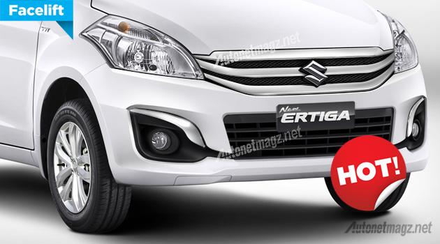 New Suzuki Ertiga facelift 2015
