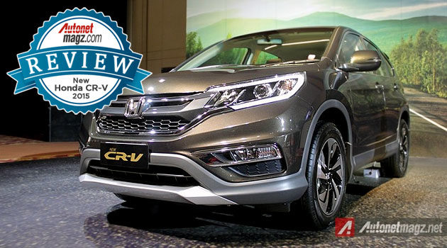 first impression review honda crv facelift 2015 indonesia autonetmagz. Black Bedroom Furniture Sets. Home Design Ideas