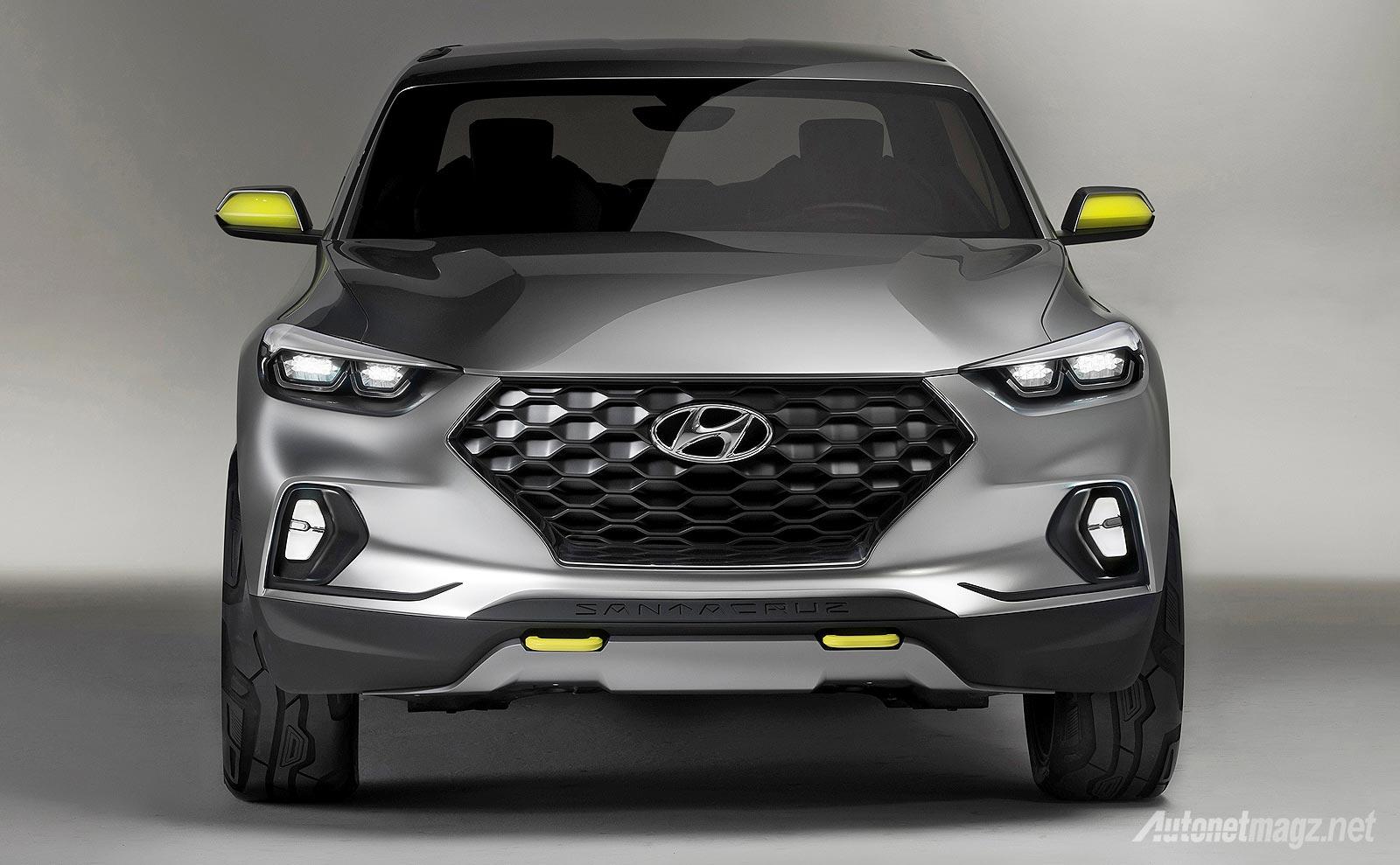 Hyundai, SUV truck terbaru Hyundai Santa Cruz concept 2015: Hyundai Santa Cruz Concept Mencuri Perhatian di Detroit Auto Show 2015