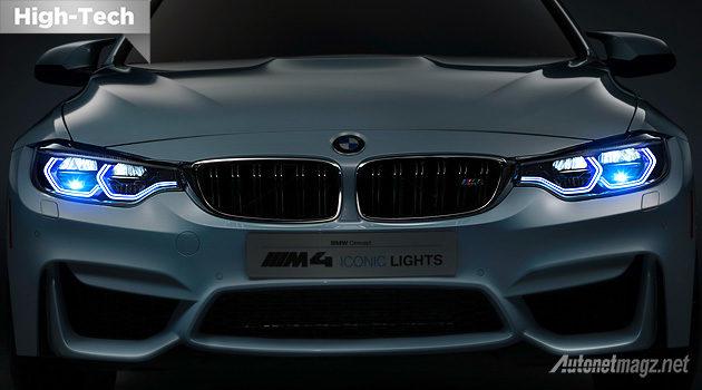 Teknologi lampu LED laser terbaru milik BMW