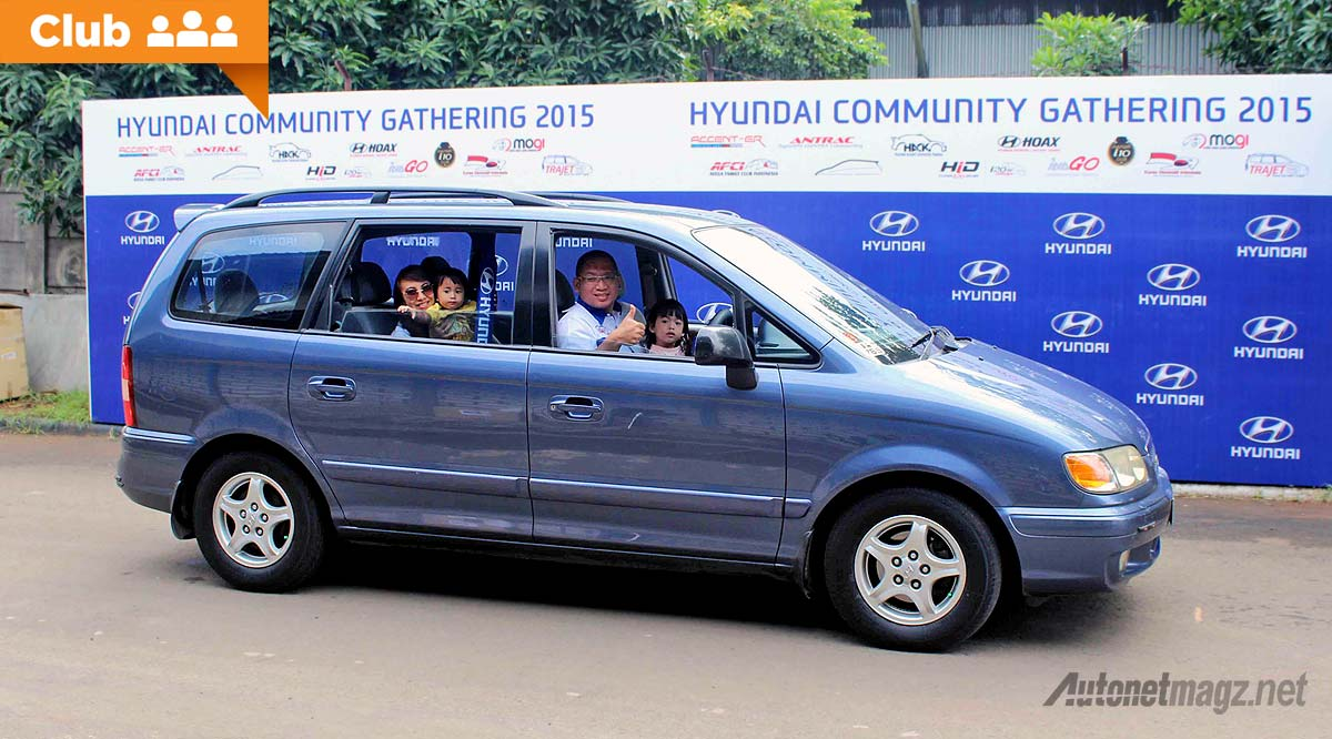 Trajet Family Club TFC ikut Hyundai Community Gathering 2015