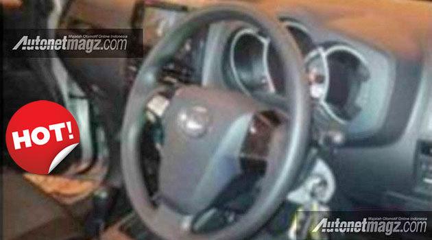 foto interior Daihatsu Terios facelift 2015