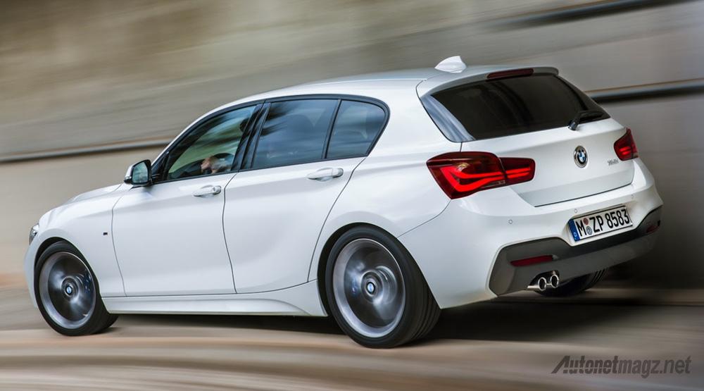 Berita, BMW-1-Series-Tampak-Belakangjpg: BMW Seri 1 Facelift Pilihan Mesinnya Makin Banyak, Manakah Pilihanmu?