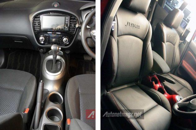 Head unit dan jok kulit Nissan Juke baru 2015 facelift