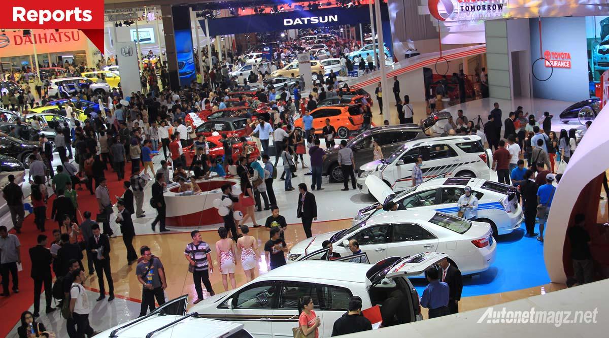 IIMS 2015 akan berbarengan dengan IIAS Indonesia International Auto Show 2015 waktu pelaksanaanya