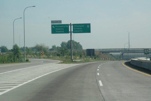 Jalan tol Cipularang Sadang