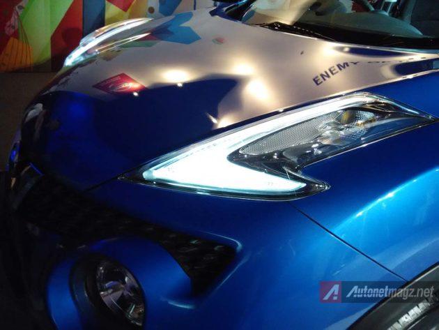 Lampu LED Nissan Juke baru facelift 2015