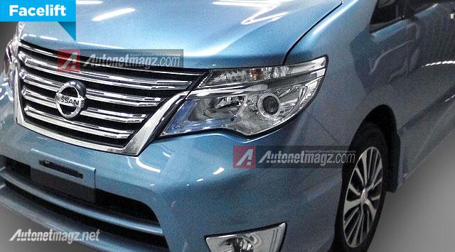 Nissan Serena facelift 2015