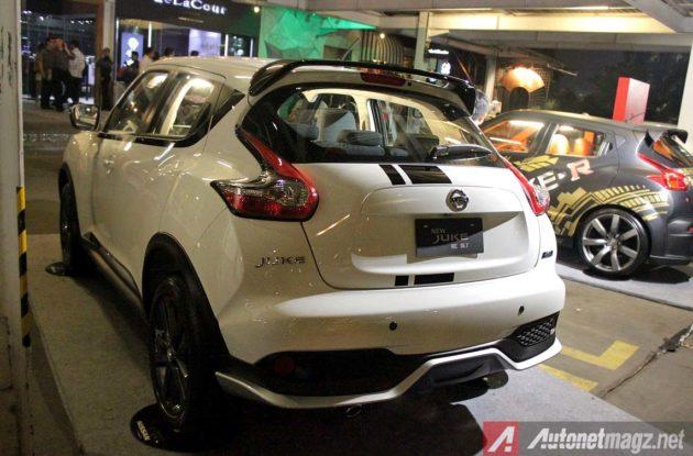 Sensor parkir dan kamera mundur Nissan Juke baru rear parking camera