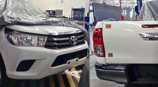 Toyota Hilux 2015 facelift baru