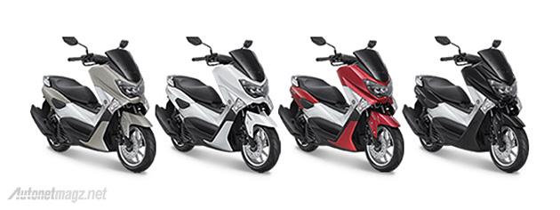 Yamaha NMax pilihan warna