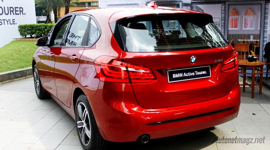 Berita, BMW-218i-Active-Tourer-Sport-Line-belakang: First Impression Review BMW 2 Series Active Tourer oleh AutonetMagz