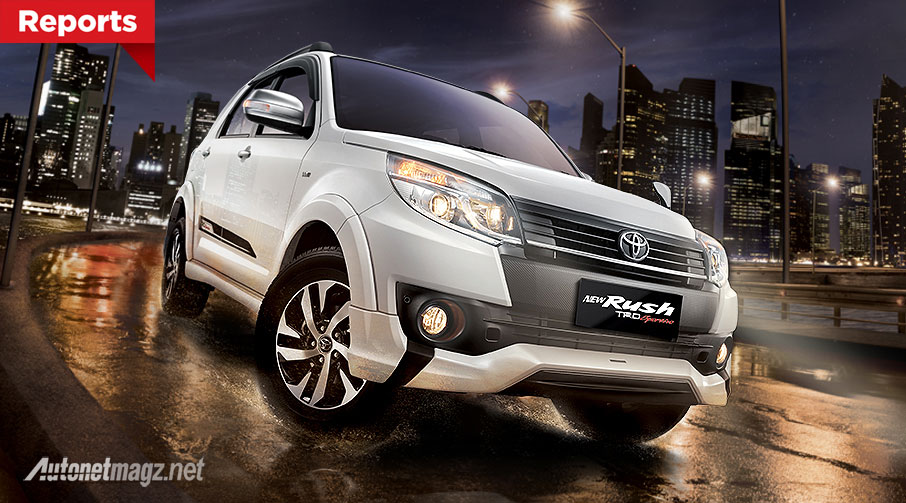 Harga Toyota Rush TRD Sportivo baru 2015