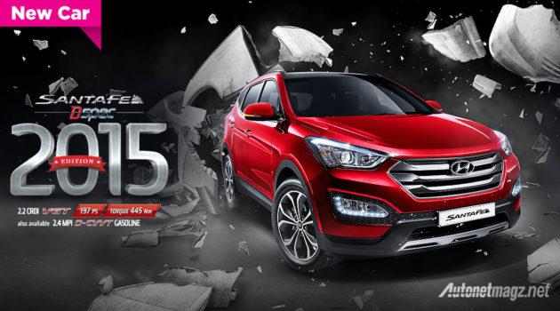 Hyundai Santa Fe baru tahun 2015 D-Spec