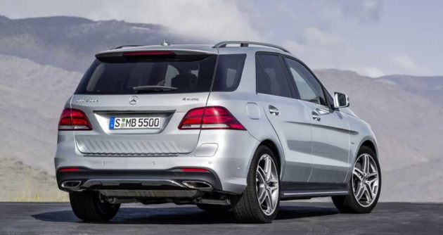 Mercedes-Benz-GLE-2016-Rear