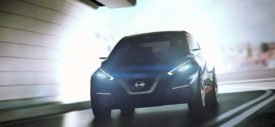 Mobil hatchback terbaru Nissan Sway concept the next Nissan Micra March 2016
