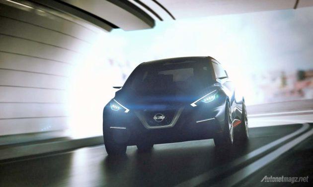 Nissan Sway concept 2015 generasi mendatang dari Nissan March 2016