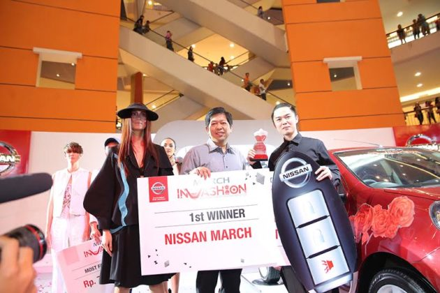 Nissan march Invashion Winner Stefandy