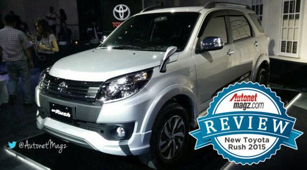 Review Toyota Rush TRD baru 2015 ulasan detail