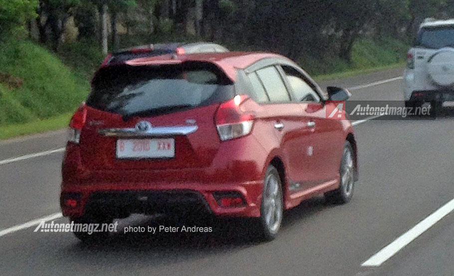 Spyshot Toyota Yaris TRD Sportivo baru 2015 facelift