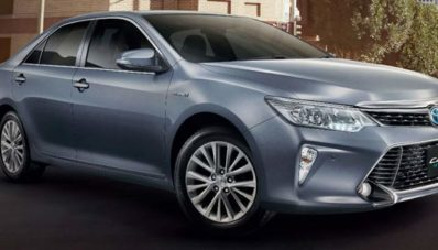 New Toyota Camry Facelift 2015 Meluncur Di Thailand