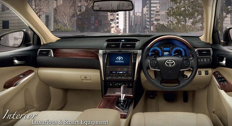 Toyota Camry Facelift 2015 Interior Indonesia Autonetmagz Review Mobil Dan Motor Baru Indonesia