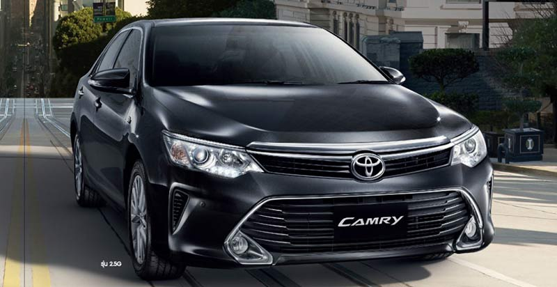 International, Toyota-Camry-V-2015-Indonesia: New Toyota Camry Facelift 2015 Meluncur di Thailand