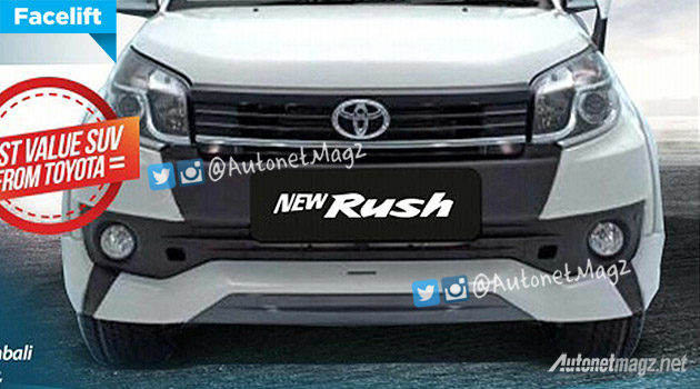 Toyota Rush 2015 facelift new