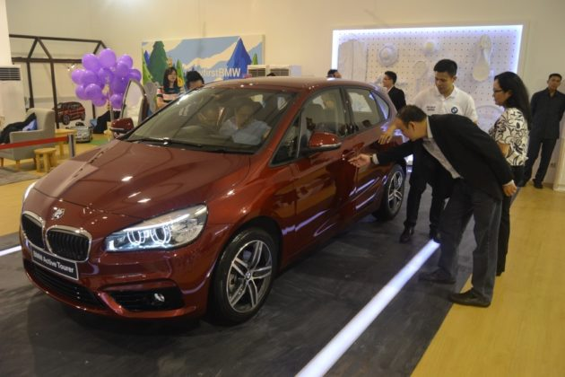 BMW Active Tourer Exhibition_Senayan_City