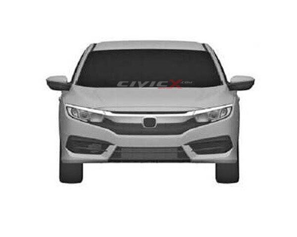 Berita, Honda civic 2016 depan: Seperti Inikah Rupa Honda Civic Sedan Baru?