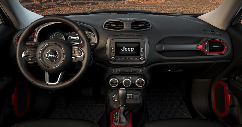 Honda, Jeep Renegade Interior: Ini Dia 10 Mobil Dengan Interior Terbaik di Dunia [Part 1]