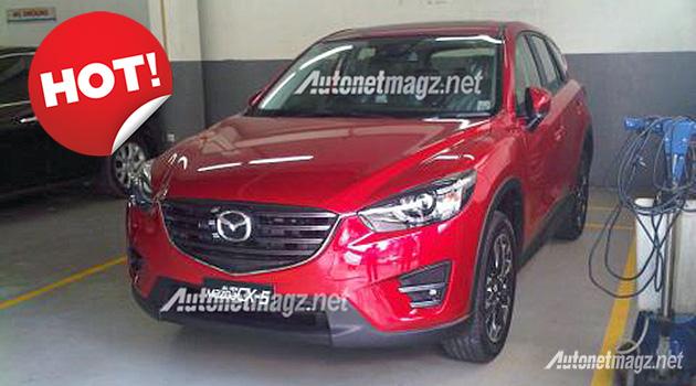 Mazda CX-5 facelift Indonesia 2015