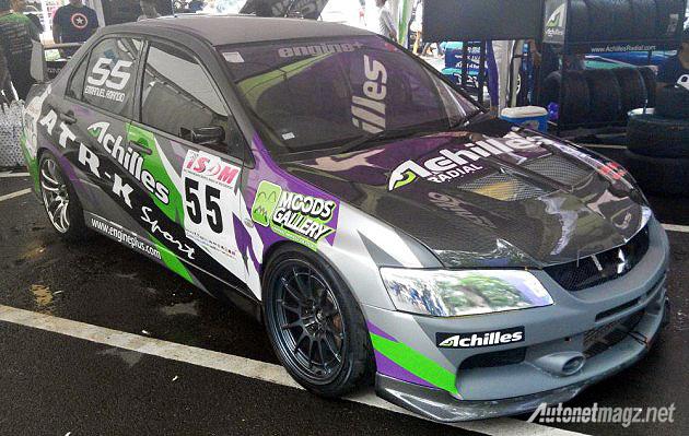 Motorsports, Mitsubishi Lancer Evo Drift Car Achilles Racing: Achilles Kembali Mengajak Para Drifter Indonesia Beraksi