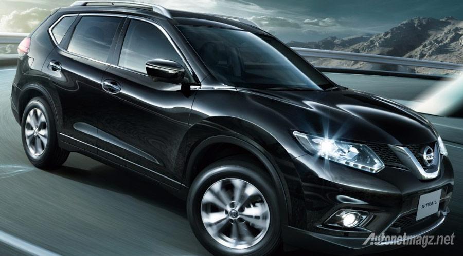 Nissan-X-trail-hybrid-hitam