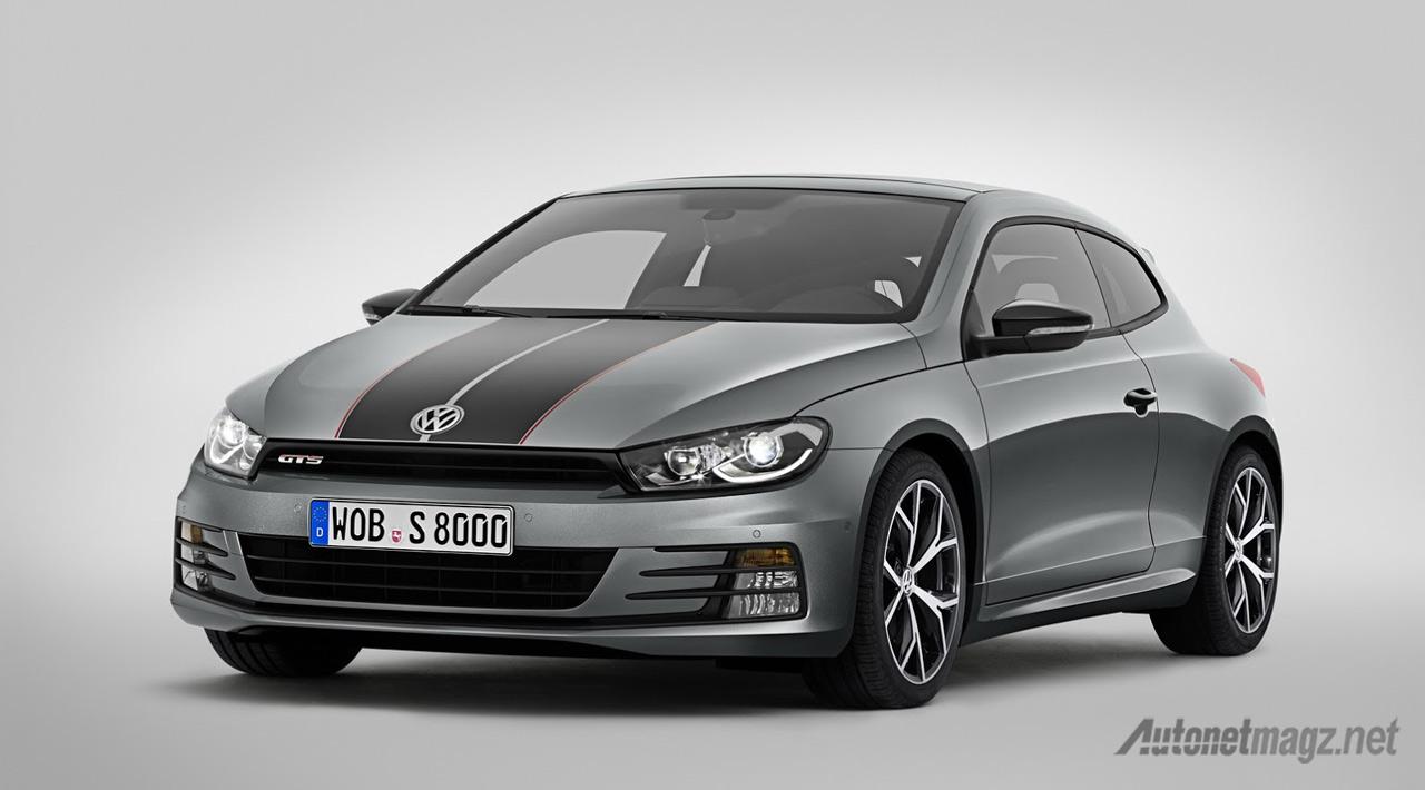 Berita, VW-Scirocco-GTS-depan: VW Scirocco GTS Jadi Alternatif Bagi yang Kurang Suka Golf GTI