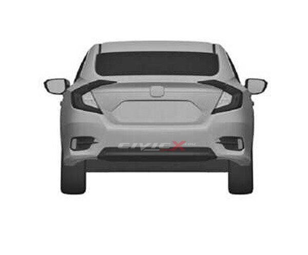 Berita, honda civic 2016 belakang: Seperti Inikah Rupa Honda Civic Sedan Baru?