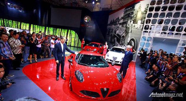Alfa Romeo Indonesia dijual oleh APM Garansindo