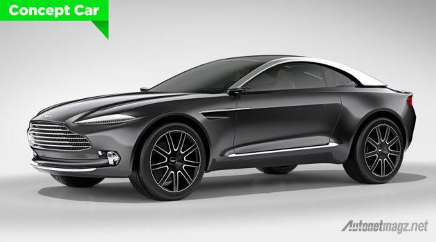 Aston Martin DBX crossover pertama dari Aston Martin