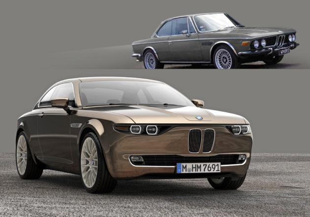 BMW E9 CS Concept