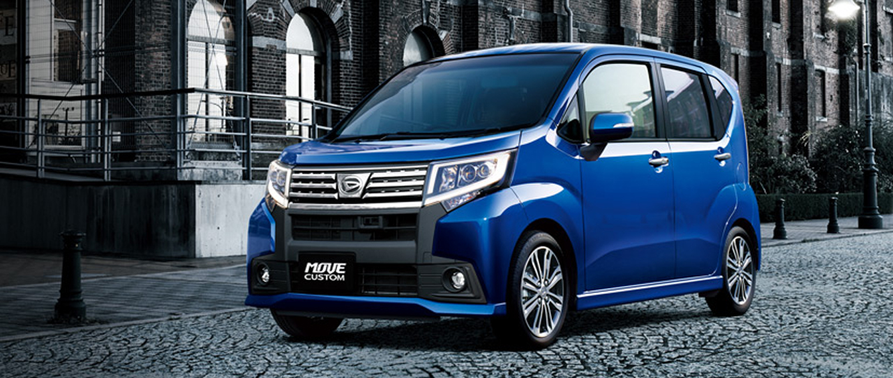 Daihatsu Move Custom Alphard