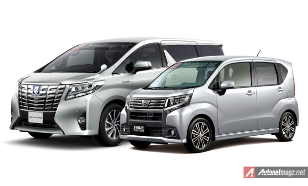 Daihatsu Move mirip dengan wajah Toyota Alphard baru