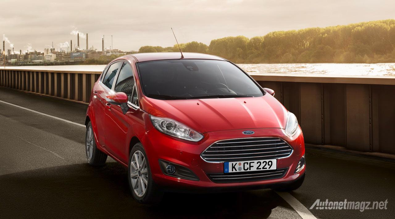 Berita, Ford-Fiesta-Merah: Ford Fiesta EcoBoost di Eropa Dapat Upgrade Tenaga Hingga 138 HP!