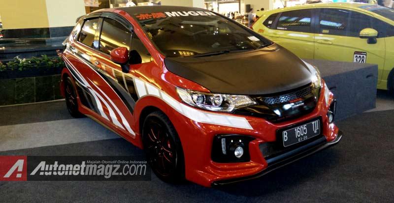 Honda Jazz Mugen Rs 2015 Body Kit Autonetmagz Review Mobil Dan